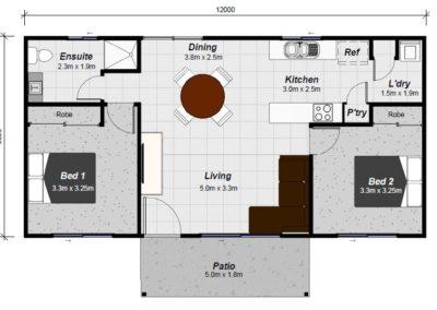 keppel granny flat floor plan