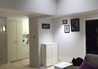 Raked ceiling 1