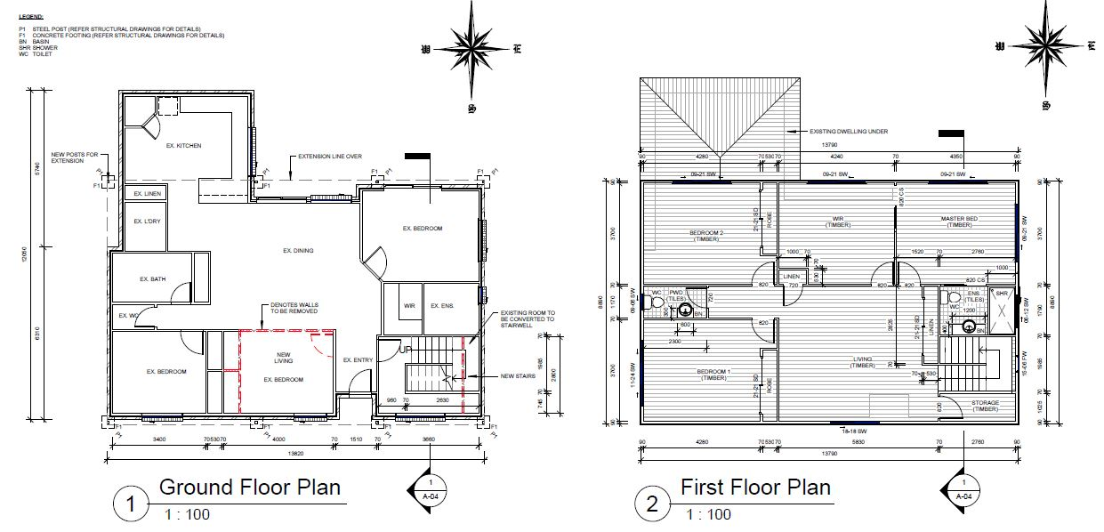 second story floor plan