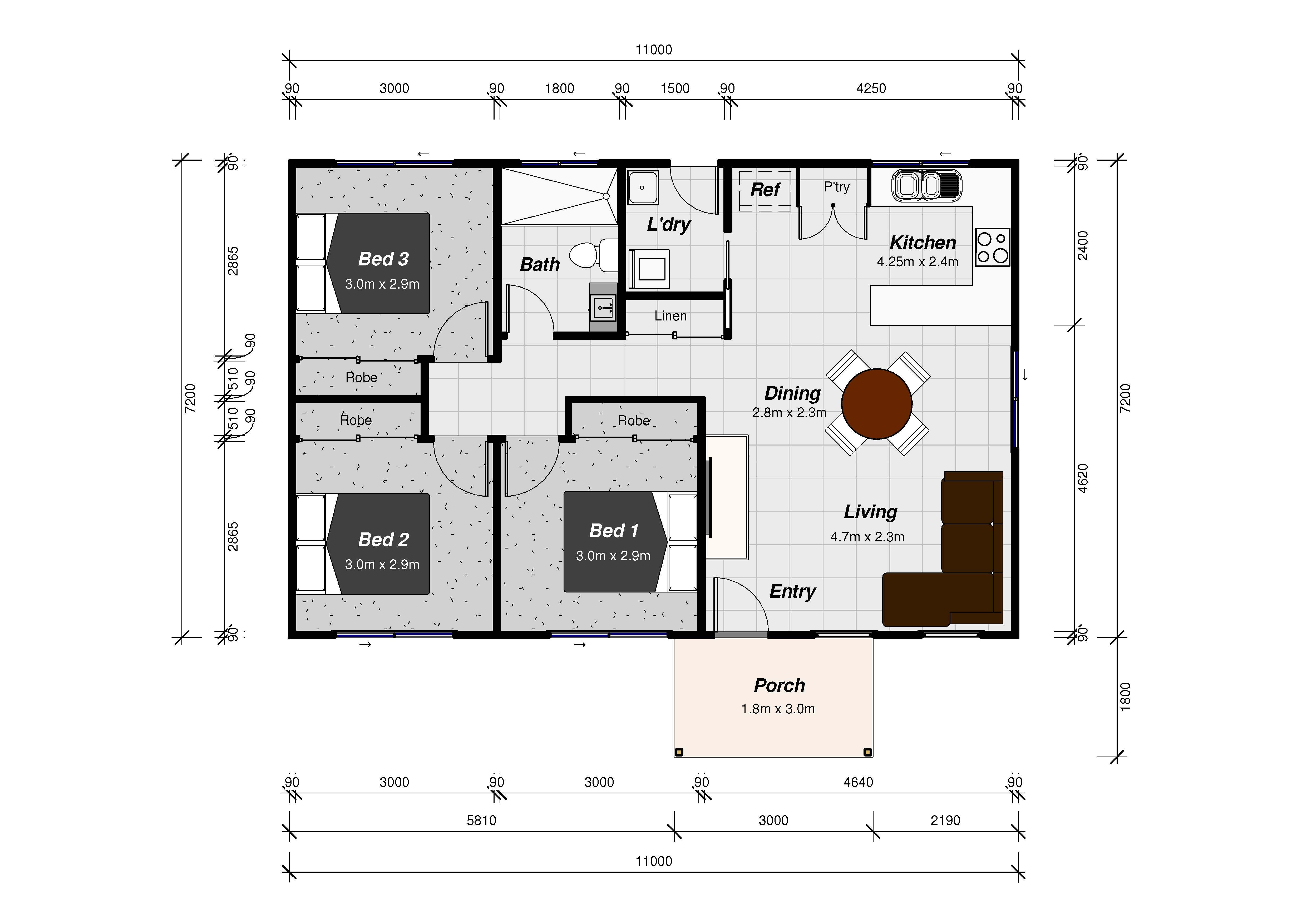 custom built granny flats